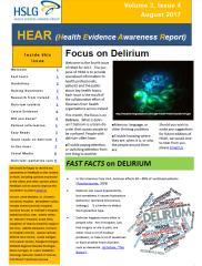 HEAR Delirium